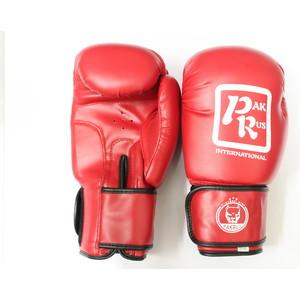 Перчатки боксерские Pak Rus 10 OZ .красные. PR-128880 (искуственная кожа)