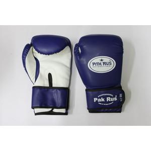 Перчатки боксерские Pak Rus 12 OZ . синие. PR-128881 (искуственная кожа) pak