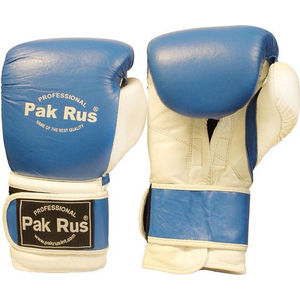 Перчатки боксерские Pak Rus 10 OZ синие (PR-12492)