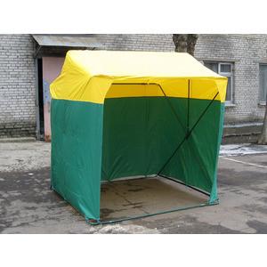 Палатка торговая Митек 1.5х1.5 P (кабриолет) палатка торговая митек домик 2 5х1 9 разборная