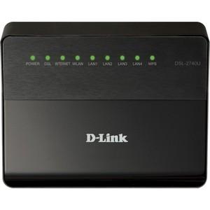 Маршрутизатор D-Link DSL-2740U/RA/U1A