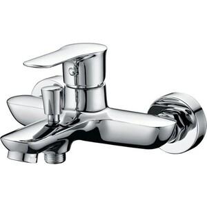 Смеситель BelBagno Reno для ванны и душа, хром (REN-VASM-CRM) душевая система belbagno slip со смесителем для ванны верхним и ручным душем ручки foglio хром sli doc crm foglio