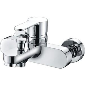 Смеситель BelBagno Tanaro для ванны и душа, хром (TAN-VASM-CRM) душевая система belbagno slip со смесителем для ванны верхним и ручным душем ручки foglio хром sli doc crm foglio