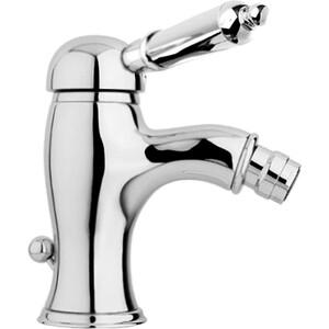 Смеситель Cezares Elite для биде, с донным клапаном, хром, ручки Металл (Elite-BSM1-01-M) смеситель для биде smartsant тренд sm054005aa