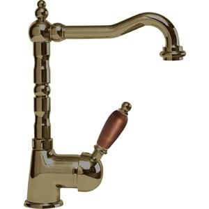 все цены на Смеситель Cezares Elite для раковины, с донным клапаном, бронза, ручки Орех (Elite-LSM2-02-Nc) онлайн