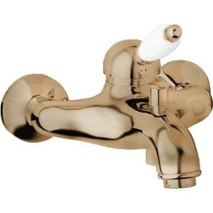 все цены на Смеситель Cezares Elite для ванны, бронза, ручка белая (Elite-VM-02-Bi) онлайн