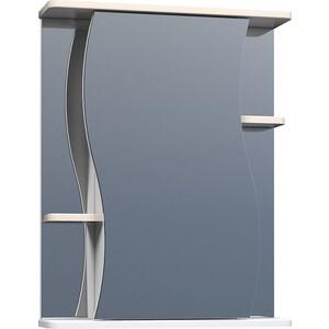 Зеркальный шкаф VIGO Alessandro (№11-550-беж) 55х15х70 alessandro черные замшевые сапоги с меховыми отворотами от alessandro