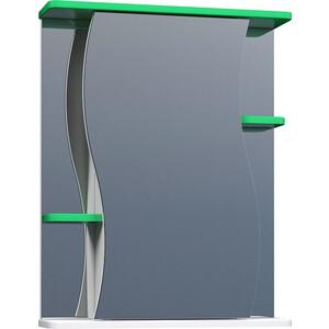 цена на Зеркальный шкаф VIGO Alessandro (№11-550-зел) 55х15х70