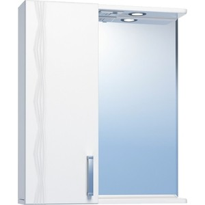 Зеркальный шкаф VIGO Atlantic (№16-550-Л) 55х15х70