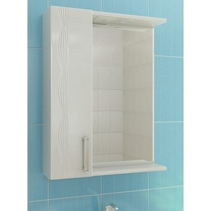 Зеркальный шкаф VIGO Atlantic (№16-600-Л б/э) 60х15х70 зеркало шкаф vigo jika 19 600 л 60х15х70