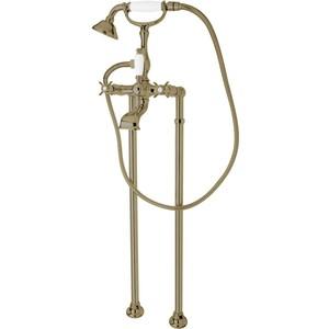 где купить  Смеситель Cezares Lord для ванны с ручным душем, бронза (Lord-VDP-02)  по лучшей цене