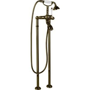 Смеситель Cezares Margot для ванны, с ручным душем, Бронза (MARGOT-VDP-02-Bi) смеситель для ванны cezares margot margot vm 02 m