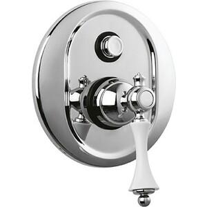Смеситель Cezares Margot для ванны встраиваемый, хром (MARGOT-VDIM-01-Bi) turbolenza vd 01 смеситель для ванны и душа хром turbolenza cezares