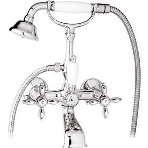 Смеситель Cezares Nostalgia для ванны, с ручным душем (Nostalgia-VD-01) настенные часы w era 14293
