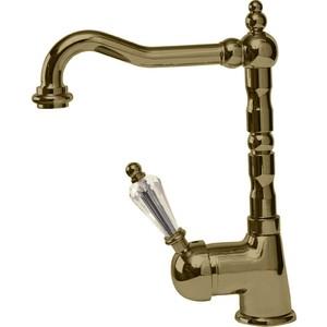 Смеситель Cezares Vintage для раковины с донным клапаном, бронза, ручки Swarovski (Vintage-LSM2-02-Sw) смеситель cezares lord для биде с донным клапаном lord bs2 01