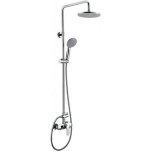 Душевая система BelBagno Reno со смесителем для ванны, верхним и ручным душем, хром (REN-DOCM-CRM-IN) душевая система belbagno slip со смесителем для ванны верхним и ручным душем ручки foglio хром sli doc crm foglio