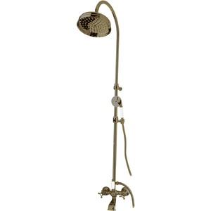 Душевая система Cezares Golf со смесителем для ванны, верхним и ручным душем (Golf-CVD-02)
