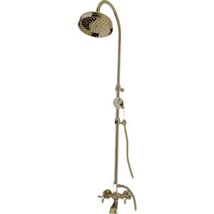 Душевая система Cezares Nostalgia со смесителем для ванны, верхним и ручным душем (Nostalgia-CVD-02) душевая система belbagno reno со смесителем для ванны верхним и ручным душем хром ren docm crm in