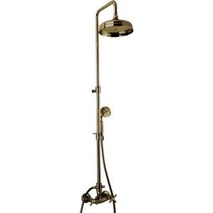 Душевая система Cezares Nostalgia со смесителем, верхним и ручным душем (Nostalgia-CD-02) цена 2017