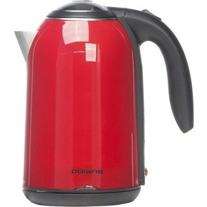 где купить Чайник электрический Polaris PWK 1766 красный дешево