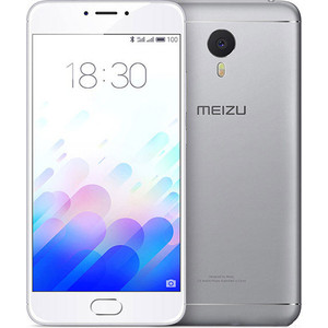 Смартфон Meizu M3 Note 32Gb Silver смартфон meizu m3 note 32gb silver white