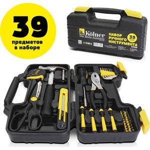 Набор инструментов Kolner KTS 39 набор инструментов kolner kts 123 123 предмета