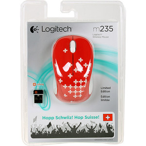 Мышь Logitech M235 Switzerland (910-004035)