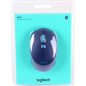 Мышь Logitech M535 Blue (910-004531) philips garcia pendant nickel 4x60w philips 36126 17 16