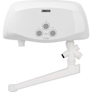 Электрический проточный водонагреватель Zanussi 3-logic 3,5 T (кран)