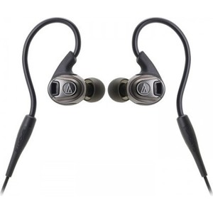 Наушники Audio-Technica ATH-SPORT3 black наушники audio technica ath ckl220 black