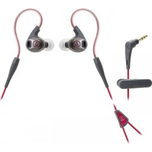 Наушники Audio-Technica ATH-SPORT3 red наушники audio technica ath avc300