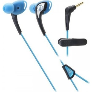 Наушники Audio-Technica ATH-SPORT2 blue наушники audio technica ath sport2 black