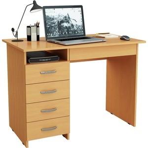 Письменный стол Мастер Милан-1 левый (бук)