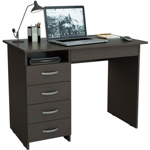 Письменный стол Мастер Милан-1 левый (венге)