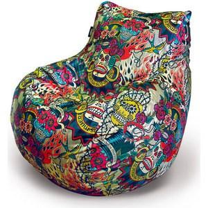 Пуф-Кресло Пуфофф Dia de los muertos декор ape ceramica capricho de los zares karl rosa 20x20