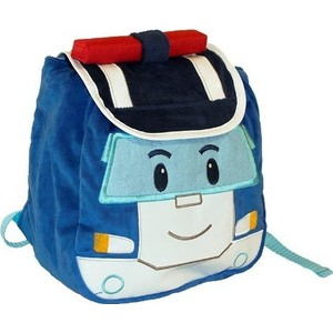 Плюшевый рюкзак Gulliver Poli Robocar Поли с крышкой (PR001BP)