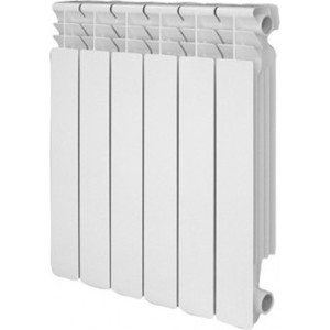 Радиатор отопления Roda алюминиевый 10 секций (GSR 33 50010) 2 10 8 10 1 6 50010