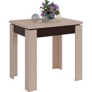 Стол обеденный СОКОЛ СО-1 венге/беленый дуб комод скарлет 1 венге беленый дуб