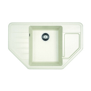 Мойка кухонная Dr.Gans Рио 800x500x217 цвет белый (25.080.C0800.401) цена 2017