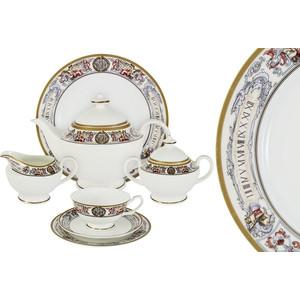 Чайный сервиз 40 предметов на 12 персон Emerald Мельпомена (E5-14-02/40-AL)