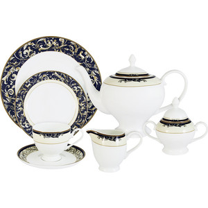 Чайный сервиз 40 предметов на 12 персон Emerald Олимпия (E5-14-234/40-AL)