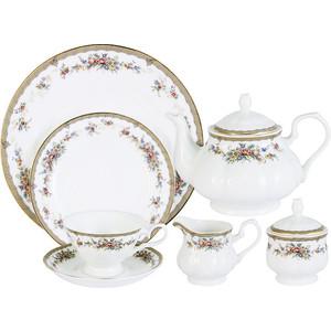 Чайный сервиз 40 предметов на 12 персон Emerald Изабелла (E5-15-606/40-AL)