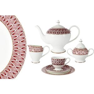 Чайный сервиз 21 предмет на 6 персон Emily Фортуна (E8-HA037/21-AL)