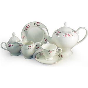 Чайный сервиз 21 предмет на 6 персон Emily Идилия (EM-11-21/21-AL)