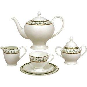 Чайный сервиз 40 предметов на 12 персон Emily Анжелика (EM-13-24/40-AL)