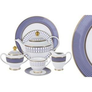 Чайный сервиз 42 предмета на 12 персон Midori Адмиралтейский (MI2-9831-Y3/42A-AL)