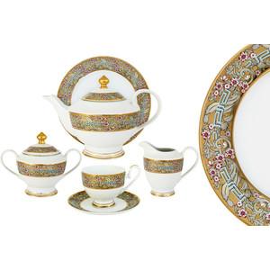 Чайный сервиз 23 предмета на 6 персон Midori Розовый берег (MI2-K6071-Y6/23B-Al)