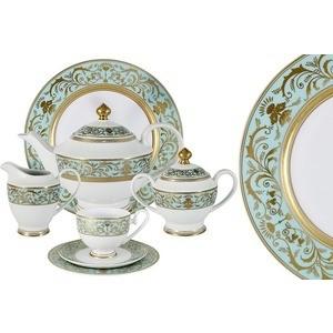 Чайный сервиз 42 предмета на 12 персон Midori Шантильи (MI2-K6879-Y7/42A-AL)