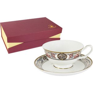 Чайный набор 12 предметов на 6 персон Emerald Мельпомена (E5-14-02/12-AL)