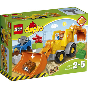Конструктор Lego Экскаватор-погрузчик (10811)